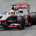 Fórmula 1 - Hamilton conquista 3ª pole no ano e larga na frente na Espanha; Massa é o 17º