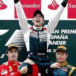 Fórmula 1 - Vitória histórica de Pastor Maldonado na F1