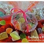 Culinária - Lembrancinha de Guloseimas em Forminhas