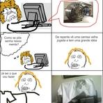 Memes - Minha mãe e o PC - Tirinha Meme