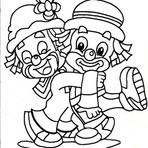 Pintura - Desenhos do Patati Patatá para colorir