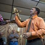 Religião - Pastor que manipulava cobras nos cultos morre picado por uma.