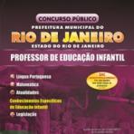 Concursos Públicos - Apostila Prefeitura do Rio de Janeiro 2012 - Professor de Educação Infantil + CD Grátis