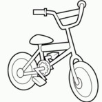 Pintura - Imagens de bicicletas para imprimir e colorir