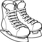 Pintura - Imagens de patins para imprimir e colorir