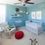 The Beatles é tema do quarto do bebê Owen.
