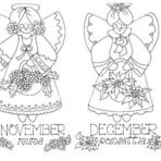 Pintura - Desenhos de Anjos Country