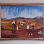 Pintura - Quadro Travessia do Deserto