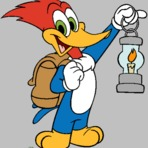 Pintura - Desenhos do PicaPau- The Woody Woodpecker