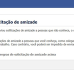 Internet - ENVIAR CONVITES PARA DESCONHECIDOS NO FACEBOOK AGORA É CRIME!