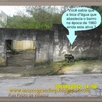 """Opinião e Notícias - Bica d""""água que abasteceu o bairro do Morro Grande na época de 1960 ainda esta ativa em 2012. Monumento ou Descaso?"""
