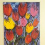 Pintura - Quadro Jardim de Flores