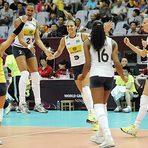 Vôlei - Seleção feminina bate Cuba e assume 2º lugar no Grand Prix