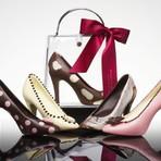 Curiosidades - Sapatos e bolsas de chocolate