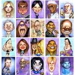 Entretenimento - Caricaturas geniais!