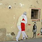 Pintura -  29 Katia Rabello: arte nas ruas mais românticas do mundo
