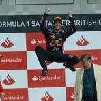 Fórmula 1 - Mark Webber vence o GP da Inglaterra.