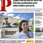 Portugal - Veja as capas dos principais jornais portugueses