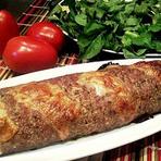 Culinária - Rocambole de carne