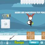 Jogos - Joguinho viciante - Flying Penguins