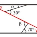 Educação - Solução de exercícios: Retas paralelas cortadas por uma transversal