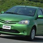 Automóveis - Toyota Etios: popular chega em setembro