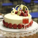 Culinária - Torta Marie Antoniette - Chocolate Branco, Pistache e Framboesas