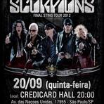 scorpions no brasil