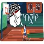 Jogos - Basquete lance livre no Google