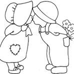 Jogos - desenhos românticos para imprimir
