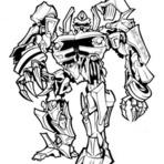 Jogos - desenhos dos transformers para pintar