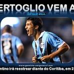 Futebol - Bertoglio irá reestrear pelo Grêmio diante do Coritiba