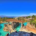 Entretenimento - Mansão no deserto de Nevada tem parque aquático particular.