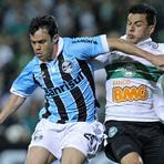 Futebol - Assistir Melhores momentos Grêmio 3 x 2 Coritiba Copa Sul-Americana