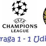 Futebol - Relatório de jogo da Liga dos Campeões Europeus: SC Braga vs Udinese