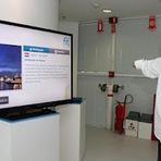 Jogos - Brasileiros criam painel interativo para deficientes físicos com o Kinect