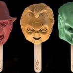 Entretenimento - Empresa russa cria picolés inspirados em personagens de terror