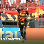 Futebol - Os gols - Sport 2 x 1 Santos - 02/09/12 - Brasileirão 2012