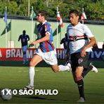 Futebol - O gol - Bahia 1 x 0 São Paulo - 02/09/12 - Brasileirão 2012