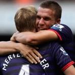 Futebol -  Arsenal supera Liverpool e vence sua primeira na Premier League