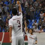 Futebol - Fluminense 3 x 1 Santos - Senhoras e senhores, abram alas para o novo líder do Brasileirão!!! \o/
