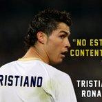 "Futebol - Tristiano Ronaldo. Cristiano Ronaldo ""no estoy contento"". CR7 I'm not happy."