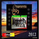 Entretenimento - Scorpions Calendar 2013