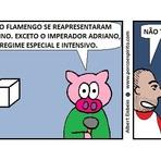 """Futebol - No """"Dia do Gordo"""", Adriano recebe tratamento especial no Flamengo."""