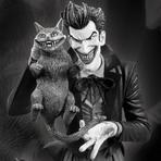Entretenimento - Batman Black and White da DC Collectibles, lança estátua do Coringa em preto e branco.