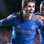 Futebol - Oscar marca dois golaços com a camisa do Chelsea