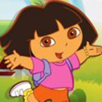Jogos - Dora's Happy Life - Jogos da Dora no MeninasNet