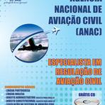 Concursos Públicos - Apostila PDF Digital Concurso ANAC 2012 Gratis Especialista em Regulação de Aviação Civil