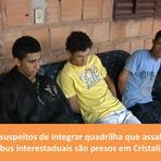 Opinião e Notícias - Suspeitos de cometer assaltos na região de Cristalina Goiás são presos pela PRF
