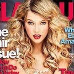 "Música - Taylor Swift posa para a revista ""Glamour"""
